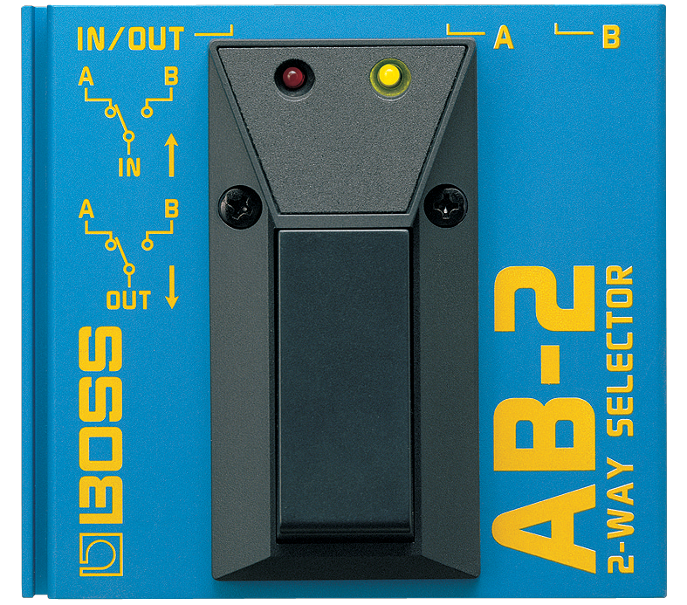 Pedal Guitarra Boss Seletor AB-2