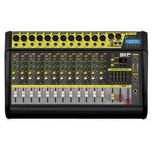 Mesa Amplificada SKP VZ 120 II 12 canais c/ MP3 - USB - Bluetooth