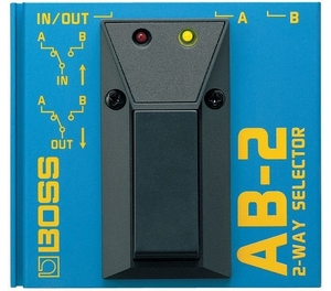 Pedal Guitarra Boss Seletor AB 2