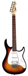 Guitarra Peavey Pv Raptor RNSB SSH Raptor Plus Brown Sunburst