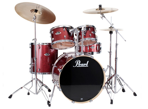 Bateria Pearl Export EXX 705 SP 20/10/12/14/1455S #704 Black Cherry Glitter Shell Pack