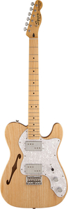 Guitarra Fender 030 1280 Squier Modified Telecaster Thinline 72S 521 Natural