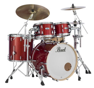 Bateria Pearl Masters Maple #346 Vermillion Sparkle Shell Pack