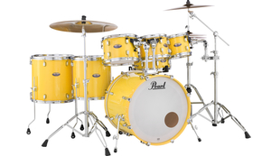 Bateria Pearl Decade Maple DMP 907 Solid Yellow #228 Shell Pack