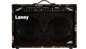 Cubo Guitarra Laney LX 120 RT Camo
