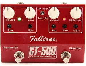 Pedal Fulltone GT 500 F.E.T. Distortion/Booster/Overdrive