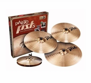 Kit Prato Paiste PST 5 Universal Set + Crash 18 Extra