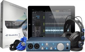 Interface de Audio Presonus Audiobox iTwo Studio