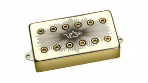 Captador Guitarra Dimarzio DP 265 Velorum Bridge F-Spaced Gold
