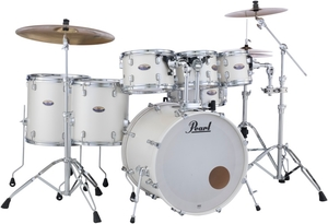 Bateria Pearl Decade Maple DMP White Satin Pearl #229 Shell Pack