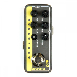 Pedal Mooer 002 UK Gold 900 Digital Preamp