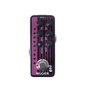 Pedal Mooer 009 Blacknight Digital Preamp