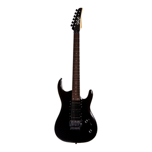 Guitarra Seizi Alien Metallic Black Escala Rw Com Floyd Rose