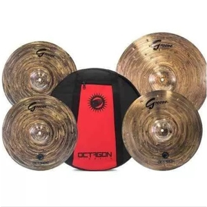 Kit Pratos Octagon Groove Gr 01 Set 141620 Com Bag