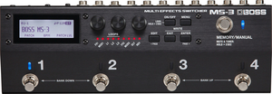 Selector Multiefeitos Boss MS 3 Multi Effects Switcher