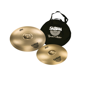 Kit de Pratos Sabian XSR 5006B1 Fast Crash 1618 + Bag de Prato