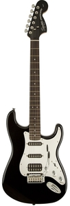 Guitarra Fender 032 1703-Squier Black And Chrome Strat HSS-506-Black