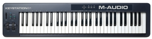 Teclado Controlador M Audio Keystation 61 II USB