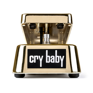Pedal Dunlop Crybaby Wah GCB 95G 50TH Anniversary Gold