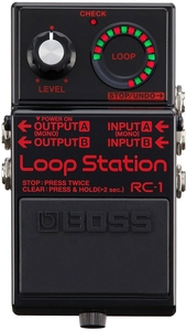 Pedal Boss RC 1 Bk Loop Station Preto