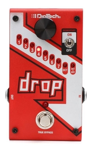 Pedal Digitech The Drop Polyphonic Tune Pitch Shifter C/ Fonte Original