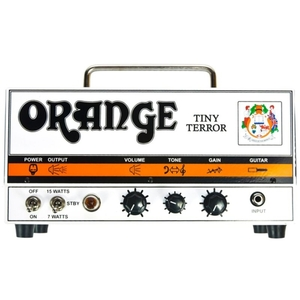 Cabeçote Orange Tiny Terror Head 15W Valvulado