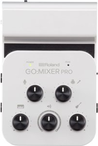 Interface Audio Roland GO MIXER Pró Para Smartphones