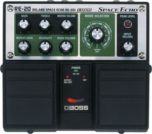 Pedal Boss RE 20 Space Echo