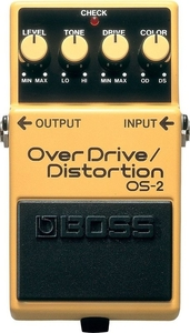 Pedal Boss OS 2 Over Drive Distortion