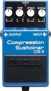 Pedal Boss CS 3 Compressor Sustain