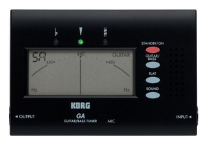 Afinador Korg Digital GA 40 BK Guitar/Bass