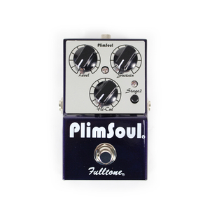 Pedal Fulltone PlimSoul Distortion/Overdrive Multi-Stage~Hi-Gain~Hi-Sustain