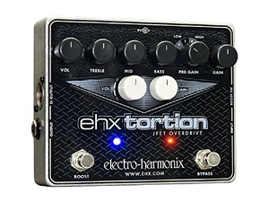 Pedal Electro Harmonix ehx tortion Jfet Overdrive