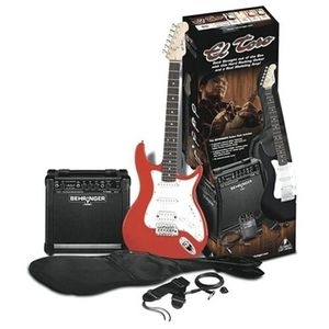 Kit Guitarra Behringe GM 108 G 625 RD