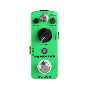 Pedal Mooer Repeater 3 Modes Digital Delay