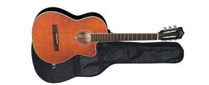 Violão Michael VM 125 E SH Galaxy Aço Semiflat Satin Honey
