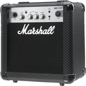 Cubo Guitarra Marshall MG 10 CF Carbon Fiber