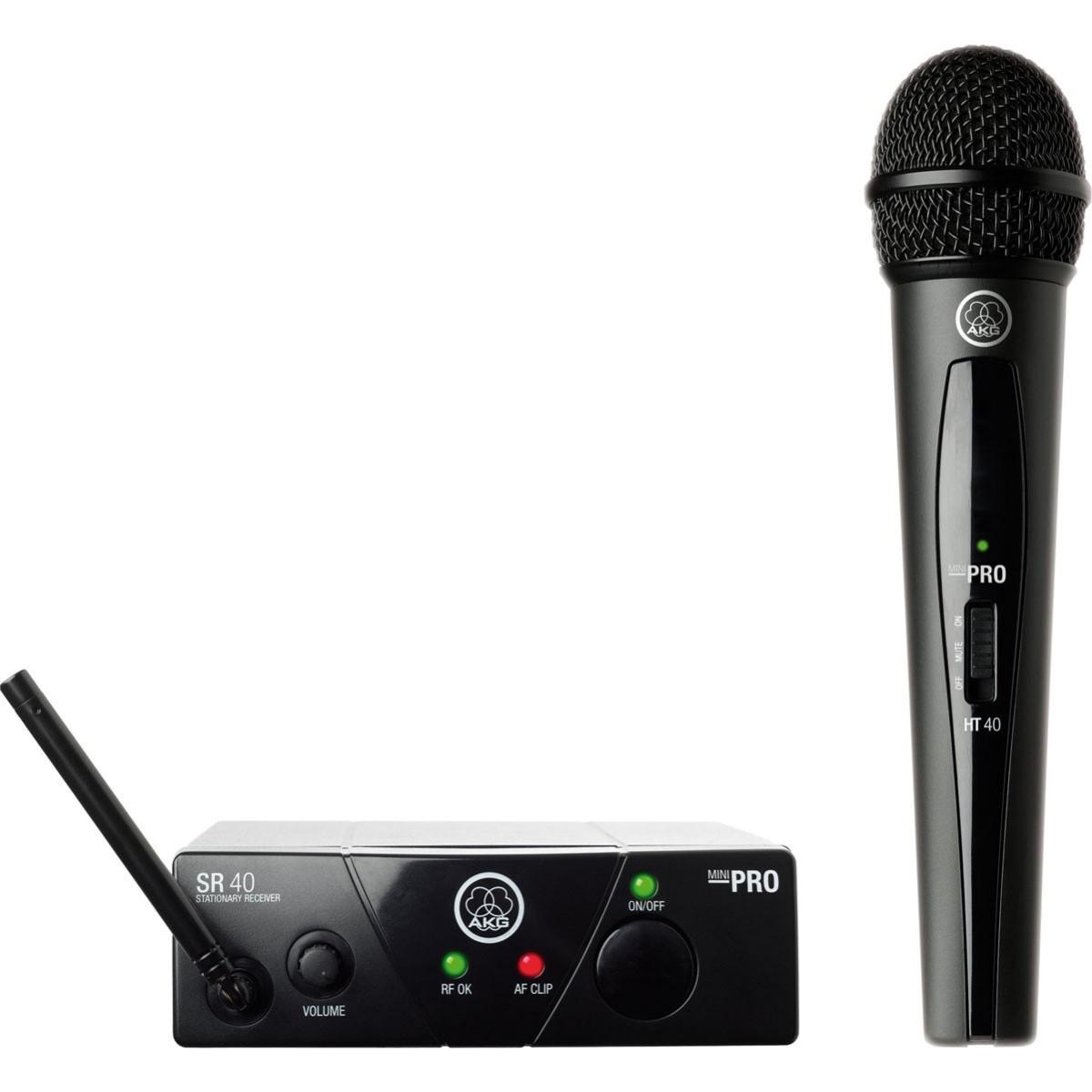 Sistema S/ Fio AKG WMS 40 Pro Vocal Single
