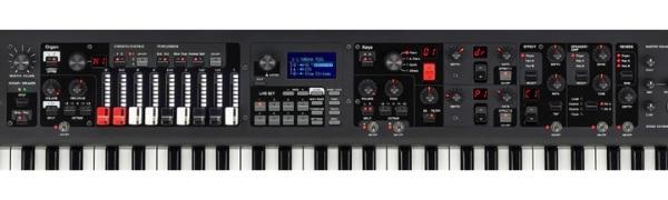 controles do teclado YC61