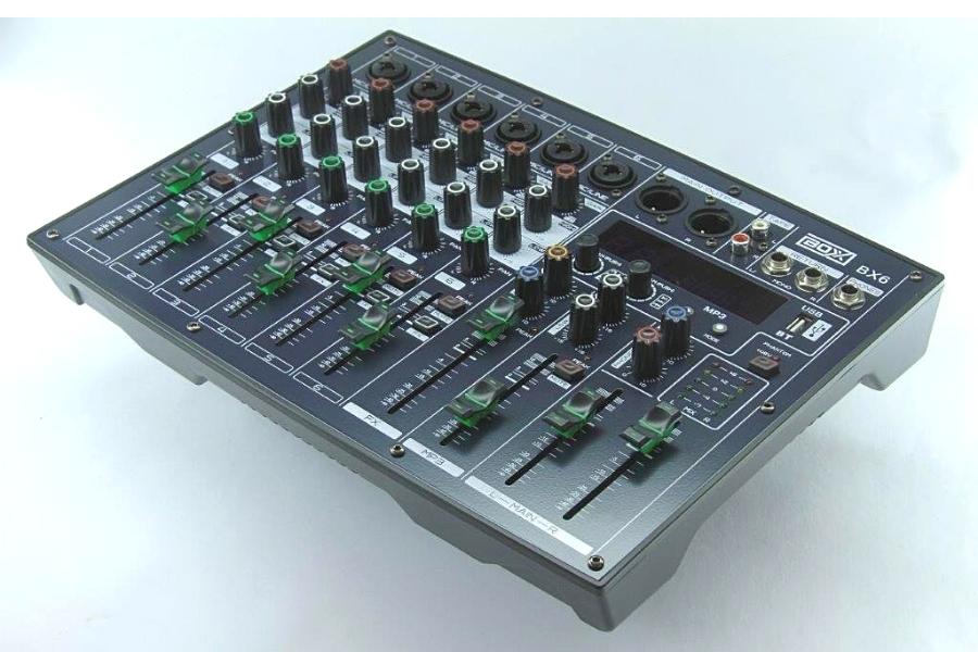 mesa de som boxx bx6