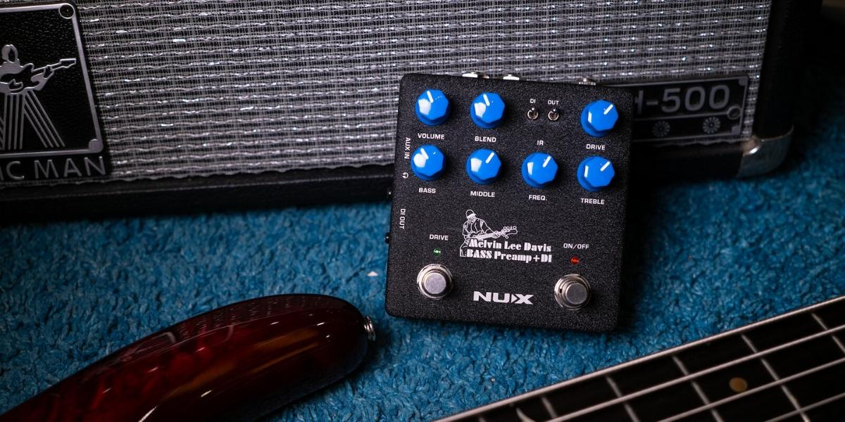 Pre amp Nux Bass