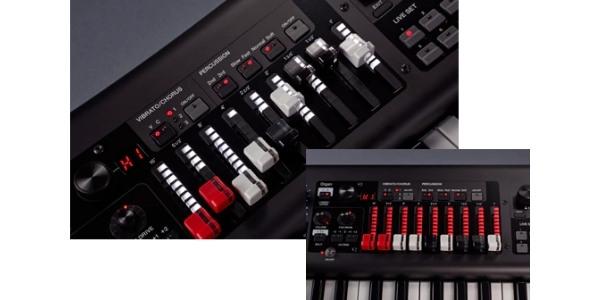 teclado yamaha yc61 drawbar