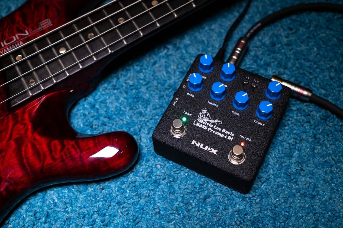 nux bass pre amp