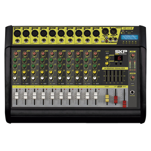 Mesa Amplificada SKP VZ 100 II 10 canais c/ MP3 - USB - Bluetooth
