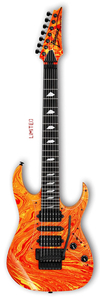 Guitarra Ibanez Jem UV 77 WFR Steve Vai Signature Passion and Warfare