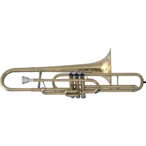 Trombone de Pisto Eagle TV 603 Curto Do C C/ Estojo