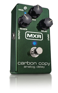 Pedal MXR M 269 Carbon Copy Bright Analog Delay Dunlop