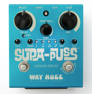 Pedal Dunlop Way Huge WHE 707 Supa Puss Analog Delay