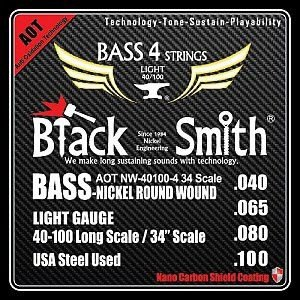 Encordoamento BlackSmith Contrabaixo AOT Coated .040 / .100 ANW 40100