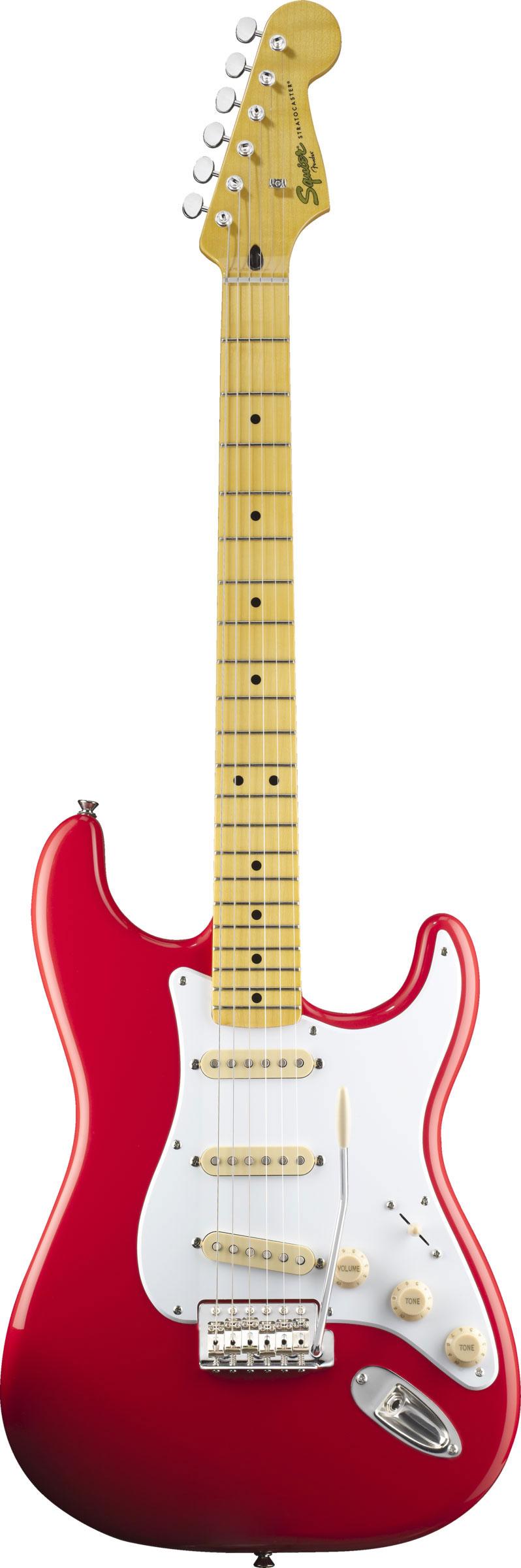 Guitarra Squier Classic Vibe Stratocaster 50s 030-3000-504 Vermelha